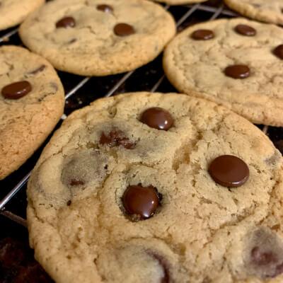 Vegan Chocolate Chip Cookies (Pack Of 4)