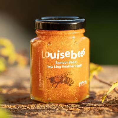 Exmoor Bees' Raw Ling Heather Honey 150Gm
