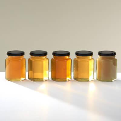Christmas Gift Box 3 - Variety Pack Of 5 X 150Gm Honeys