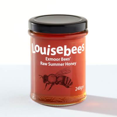 Exmoor Bees' Raw Summer Honey 248Gm / 8Oz