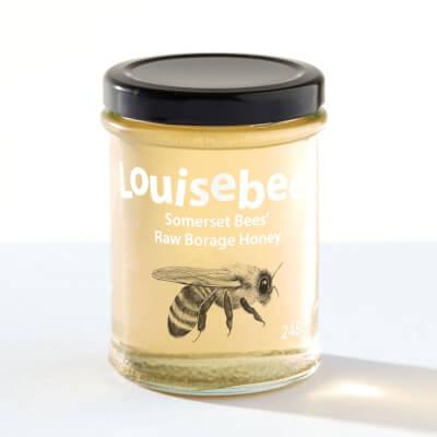 Somerset Bees' Raw Borage Honey 248Gm/8Oz