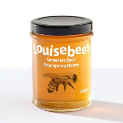 Somerset Bees' Raw Spring Honey 248Gm / 8Oz
