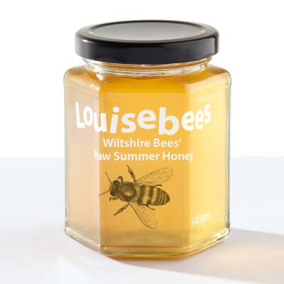 Wiltshire Bees' Raw Summer Honey 340Gm/12Oz