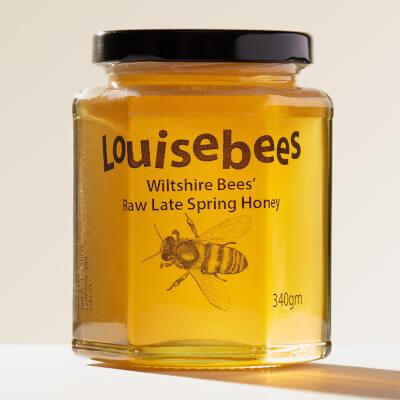 Wiltshire Bees' Raw Spring Honey 340Gm/12Oz