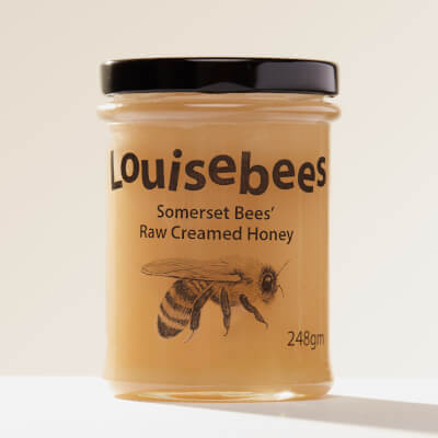 Somerset Bees' Raw Creamed Honey 248Gm / 8Oz