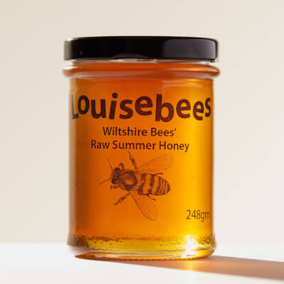 Wiltshire Bees' Raw Summer Honey 248Gm/8Oz