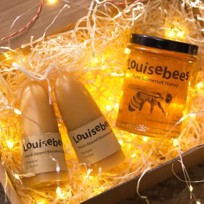 Candles & Honey Gift Box 1