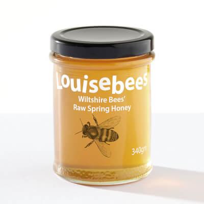 Wiltshire Bees' Raw Spring Honey 248Gm/8Oz