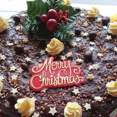 Decadent Christmas Fruit Cake