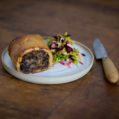 Chicken And Mushroom Sausage Roll