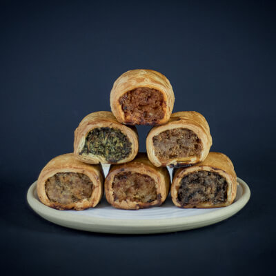 Mixed Selection 4 Or 6 Sausage Rolls