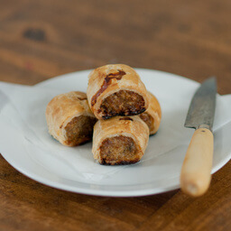 Mini Chicken And Mushroom Sausage Rolls