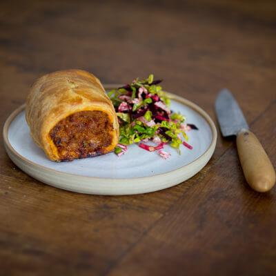 Pork Pimenton Sausage Roll