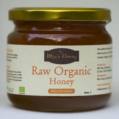 Raw Organic Multifloral Honey