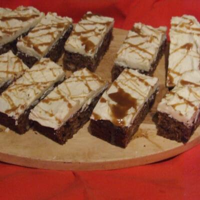Sticky Toffee Cake Slice