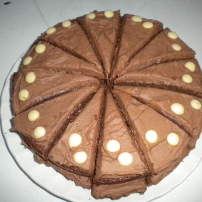 Chocolate Sponge Slice