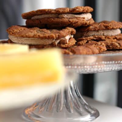 Cinnamon Cookie Sandwich