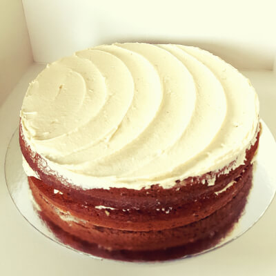 Banana White Chocolate Cake 1 1 2 Kg