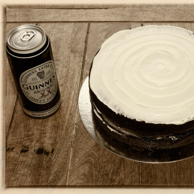 Guinness And Chocolate Cake 1 1 5 Kg