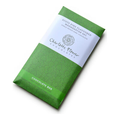Scots Pine Flavoured Madagascar 66% Plain Chocolate Bar