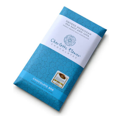 Smoked Sea Salt And Java Milk Chocolate Bar