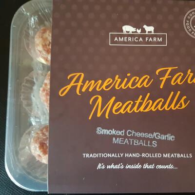 America Farm Meatballs Fresh