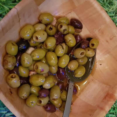African Spice Olives