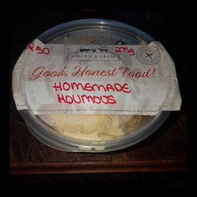Natural Organic Hummus - Pot Return Reduced Packaging (200G)