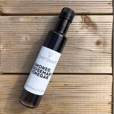 Smoked Rosemary Sherry Vinegar