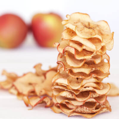 Dried Apple : A Healthy Zero Waste Snack