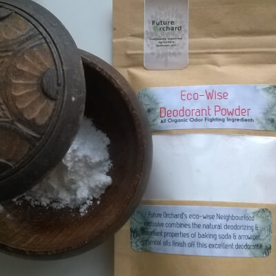 Eco -Wise Deodorant : All Organic Odor Buster !