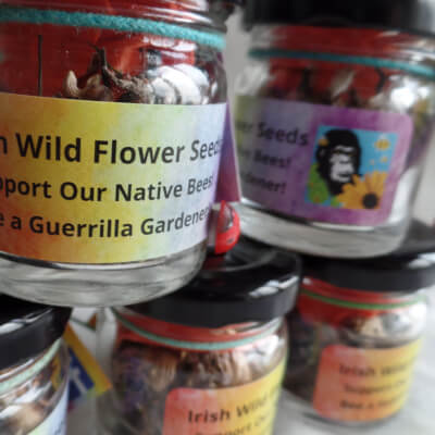 Irish Wildflower Seeds In A Jar...