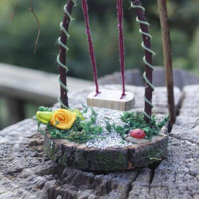 Fairy Furniture: Magic : Small Swing