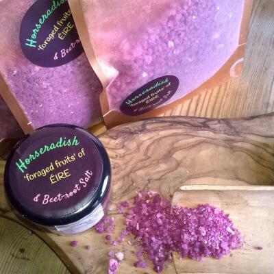 Horseradish & Beetroot Salt