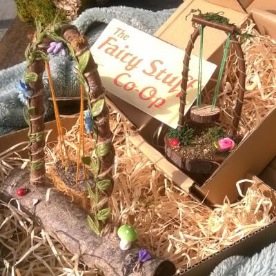 Fairy Furniture: Magic : Larger Swing
