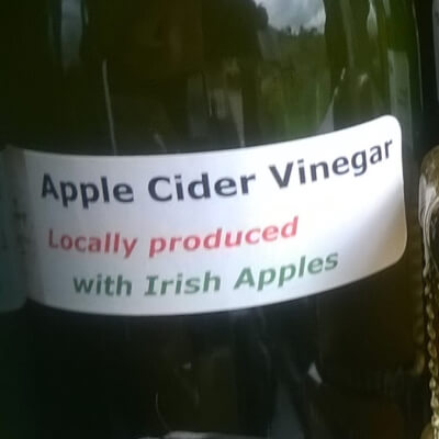 Irish Apple Cider Vinegar - With Its Mother X