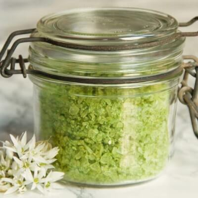 Irish Wild Garlic Seasoning Salt
