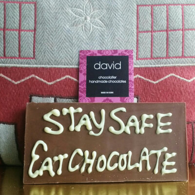 Stay Safe Eat Chocolate Bar