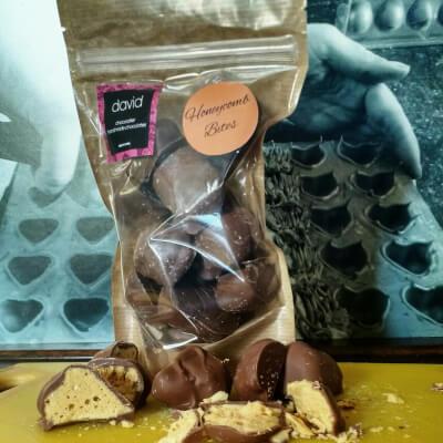Milk Chocolate Honeycomb Bites