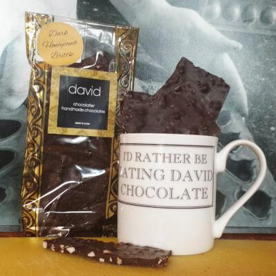 Handmade Dark Chocolate Brittle