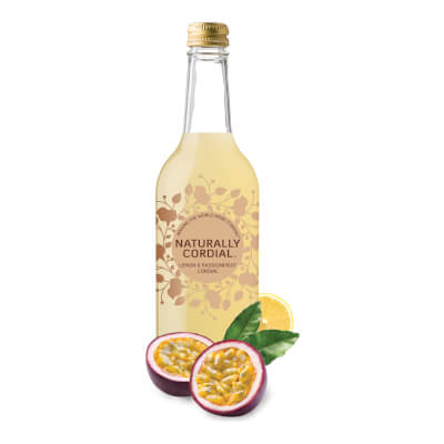 Naturally Cordial Lemon & Passionfruit