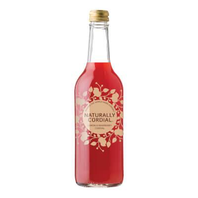 Naturally Cordial Lemon & Raspberry Cordial