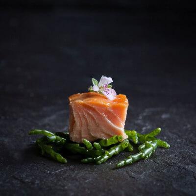 Burren Hot Smoked Irish Organic Salmon, Plain