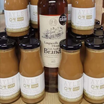 Butterscotch & Longueville House Irish Apple Brandy Sauce