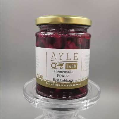 Homemade Pickled Red Cabbage
