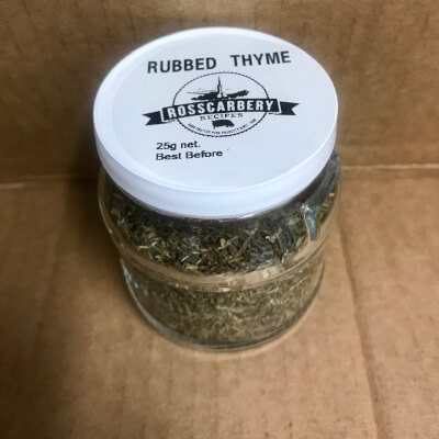 Dried/ Rubbed Thyme