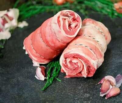 Gower Salt Marsh Lamb - Bone & Rolled Breast