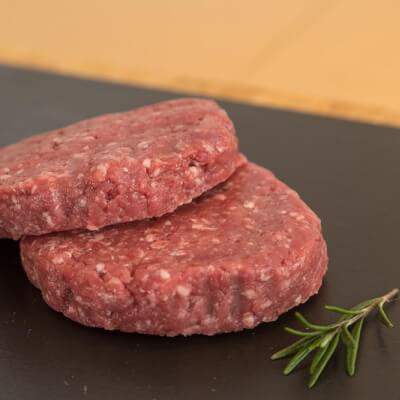 Gower Salt Marsh Lamb - Salt Marsh Homemade Lamb Burgers