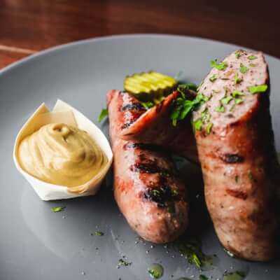 Ty Siriol Pork & Leek Sausages