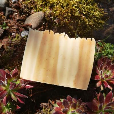The Aussie - Solid Natural Soap With Lemon Eucalyptus & Geranium Essential Oils